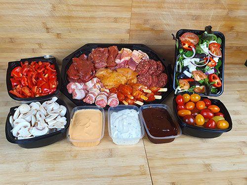 Gourmet pakket luxe 4 personen, 11,49  p.p