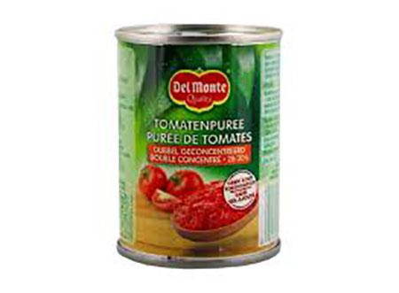 Tomaten puree blikje