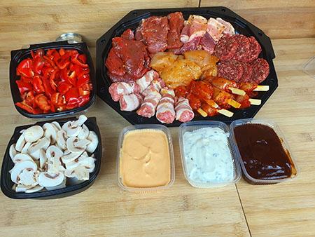Gourmet pakket 4 personen, 9,95 p.p