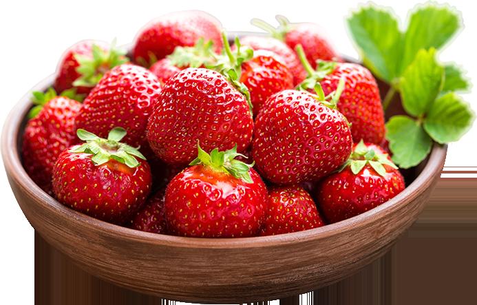 Aardbeien Basket